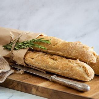 Baguette (gluten-free, dairy-free)