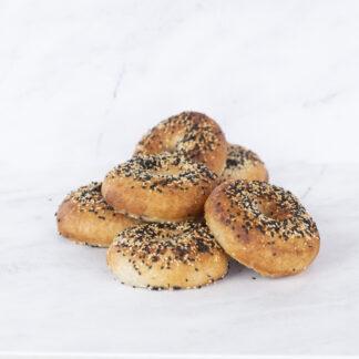 Bagels (gluten-free, dairy-free, vegan)
